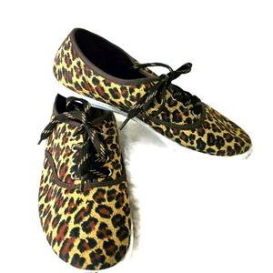 Kali Leopard Print Sneakers